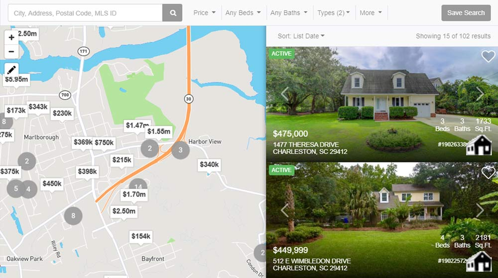 browse real estate pagelink