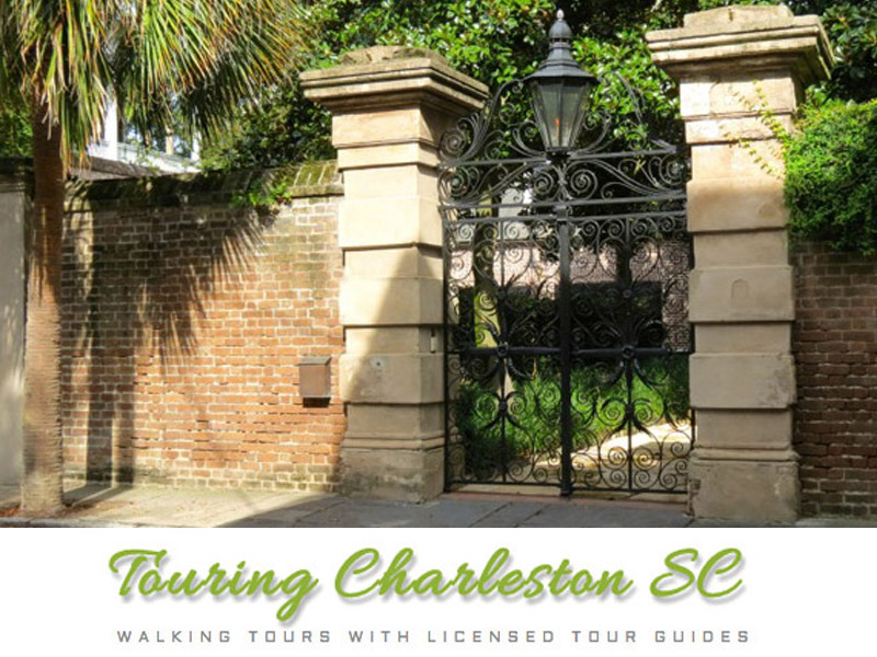 Touring Charleston SC with Amelia Whaley